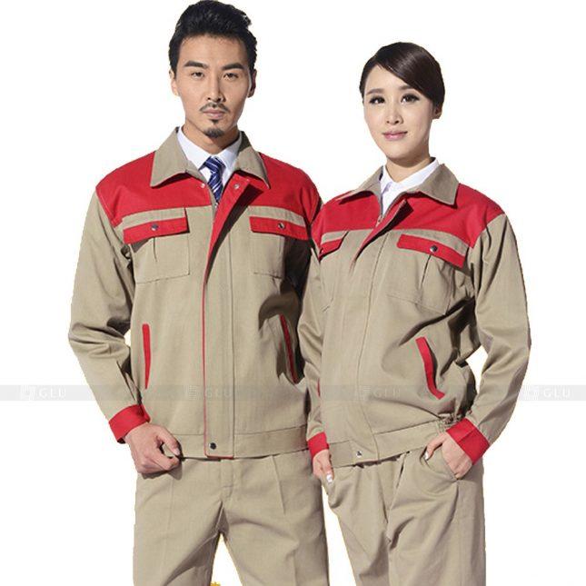 Quan ao dong phuc bao ho GLU X688 đồng phục công nhân xây dựng