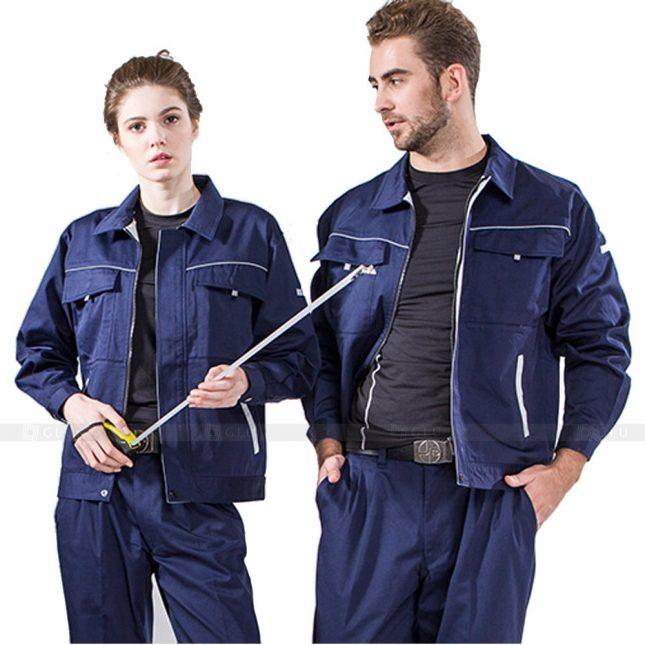 Quan ao dong phuc bao ho GLU X752 đồng phục công nhân xây dựng