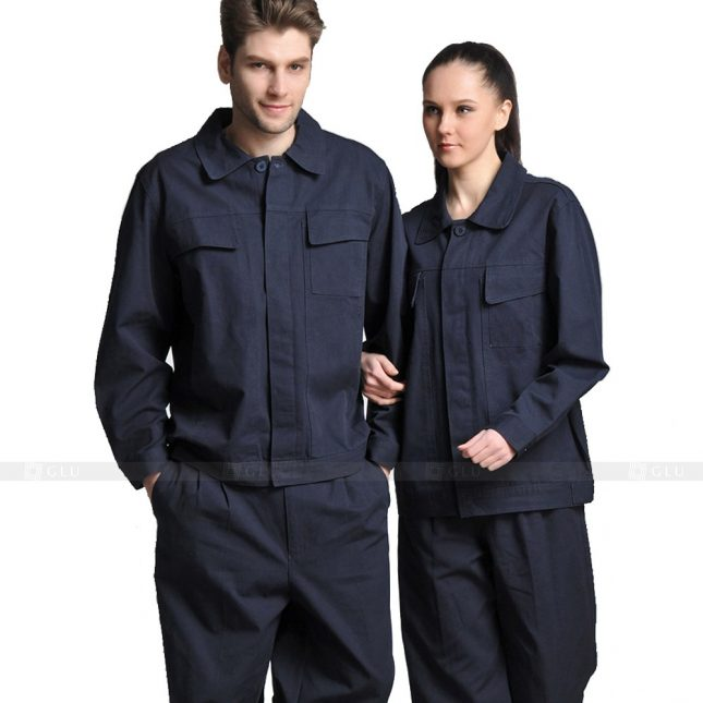 Quan ao dong phuc bao ho GLU X765 đồng phục công nhân xây dựng