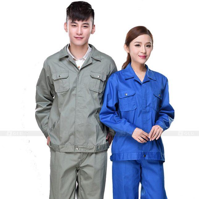 Quan ao dong phuc bao ho GLU X780 đồng phục công nhân xây dựng