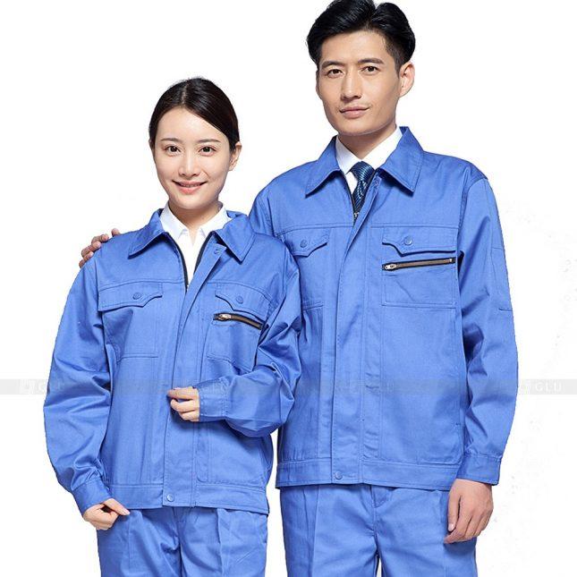 Quan ao dong phuc bao ho GLU X782 đồng phục công nhân xây dựng
