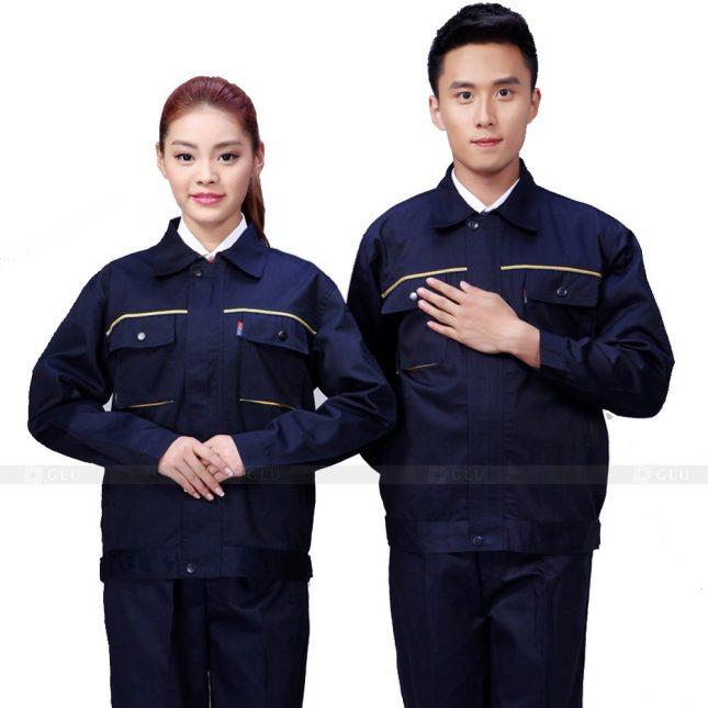 Quan ao dong phuc bao ho GLU X794 đồng phục công nhân xây dựng