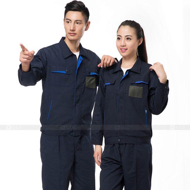 Quan ao dong phuc bao ho GLU X810 đồng phục công nhân cơ khí