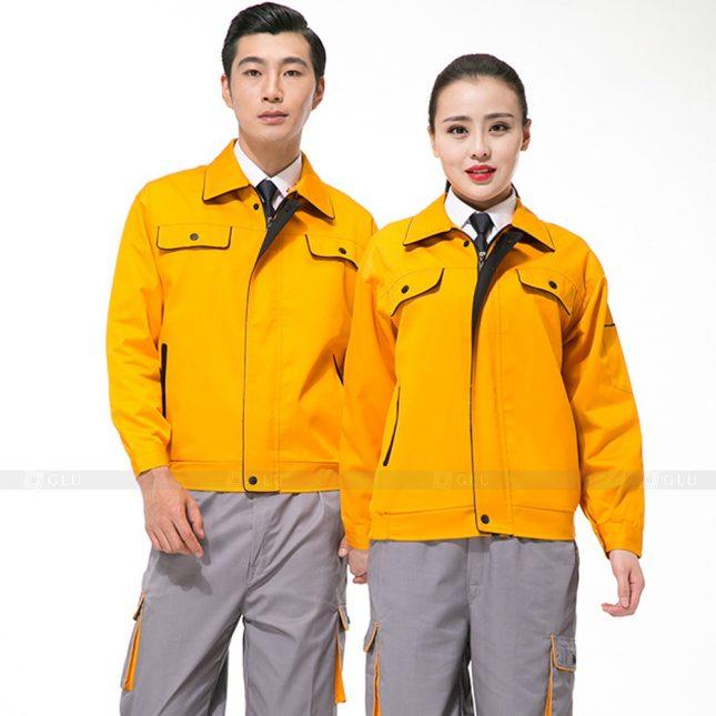 Quan ao dong phuc bao ho GLU X821 đồng phục công nhân cơ khí