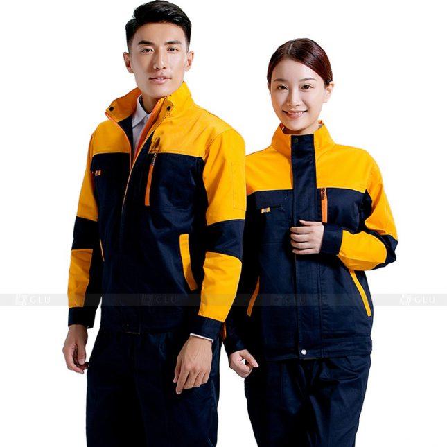 Quan ao dong phuc bao ho GLU X837 đồng phục công nhân cơ khí