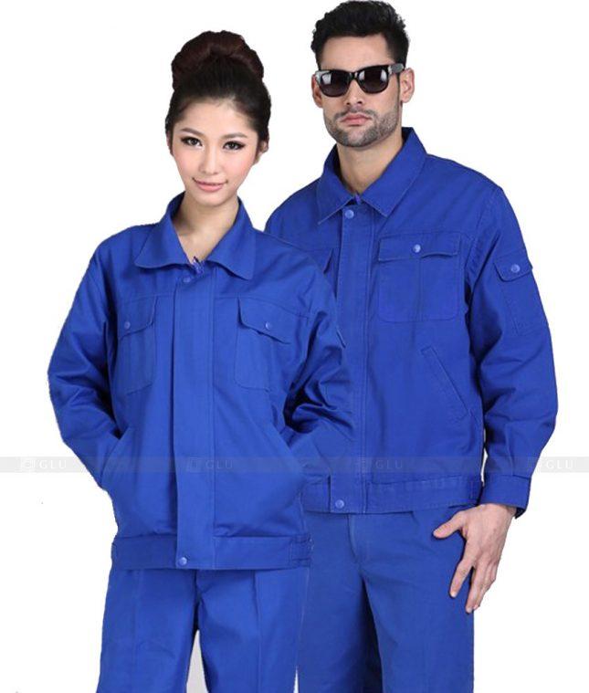 Quan ao dong phuc bao ho GLU X880 đồng phục công nhân cơ khí