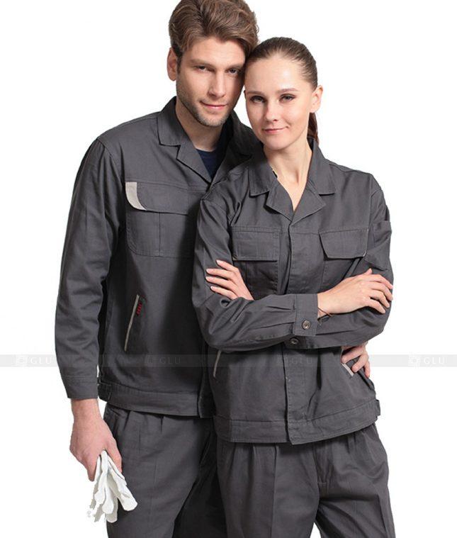 Quan ao dong phuc bao ho GLU X882 đồng phục công nhân cơ khí