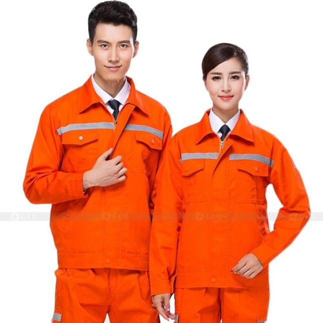 Quan ao dong phuc bao ho GLU X890 đồng phục công nhân cơ khí
