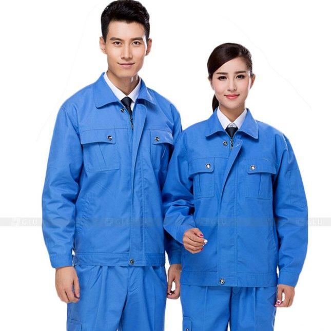 Quan ao dong phuc bao ho GLU X894 đồng phục công nhân cơ khí