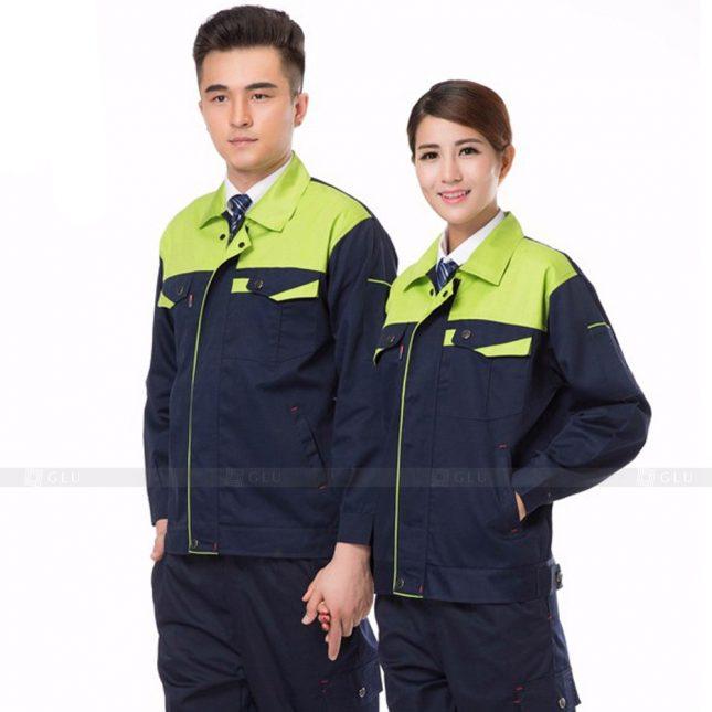 Quan ao dong phuc bao ho GLU X897 đồng phục công nhân cơ khí