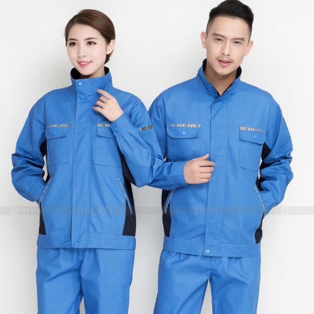 Quan ao dong phuc bao ho GLU X905 đồng phục công nhân cơ khí