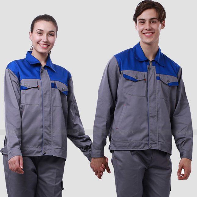 Quan ao dong phuc bao ho GLU X910 đồng phục công nhân cơ khí