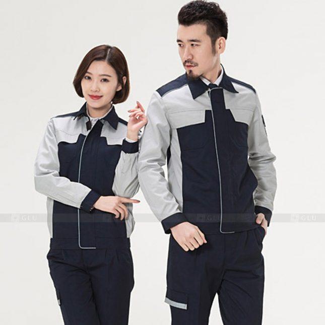Quan ao dong phuc bao ho GLU X915 đồng phục công nhân cơ khí