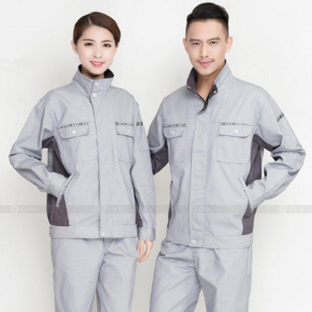 Quan ao dong phuc bao ho GLU X921 đồng phục công nhân cơ khí