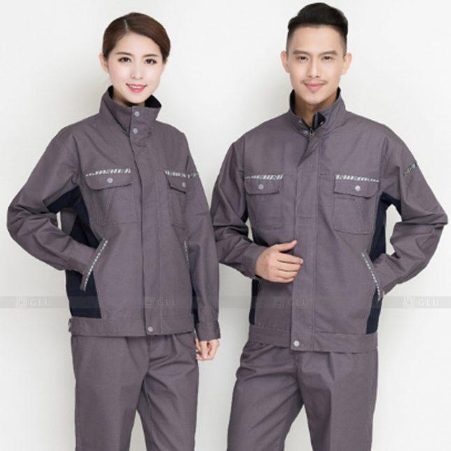 Quan ao dong phuc bao ho GLU X922 đồng phục công nhân cơ khí