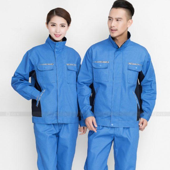 Quan ao dong phuc bao ho GLU X923 đồng phục công nhân cơ khí
