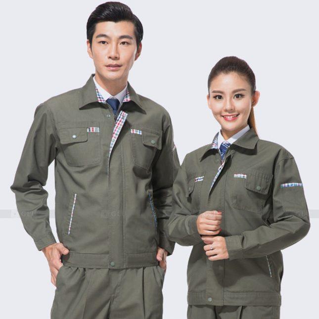 Quan ao dong phuc bao ho GLU X939 đồng phục công nhân cơ khí
