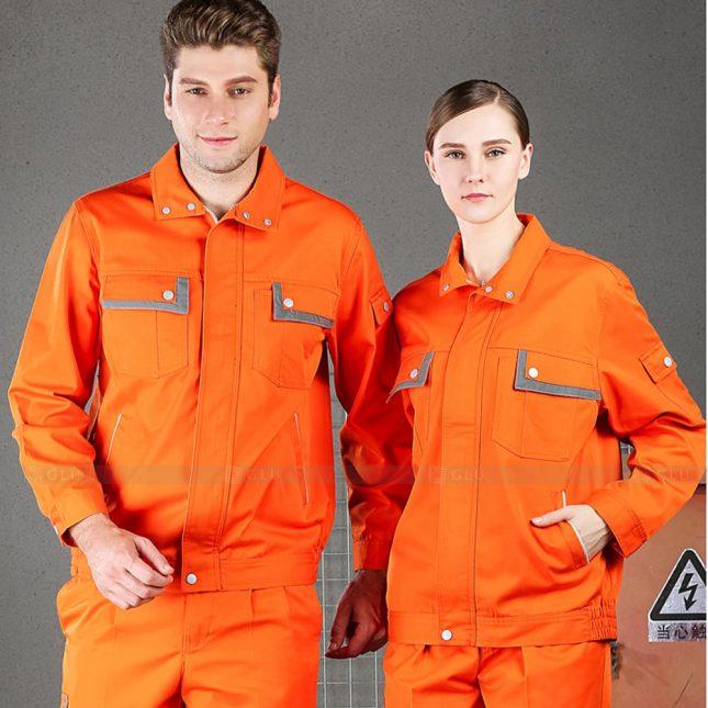 Quan ao dong phuc bao ho GLU X996 đồng phục công nhân cơ khí