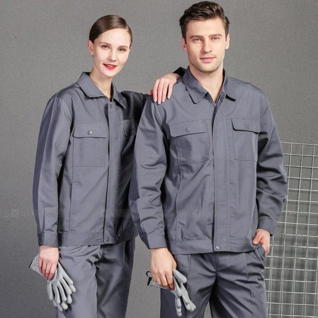 Quan ao dong phuc bao ho GLU X998 đồng phục công nhân cơ khí