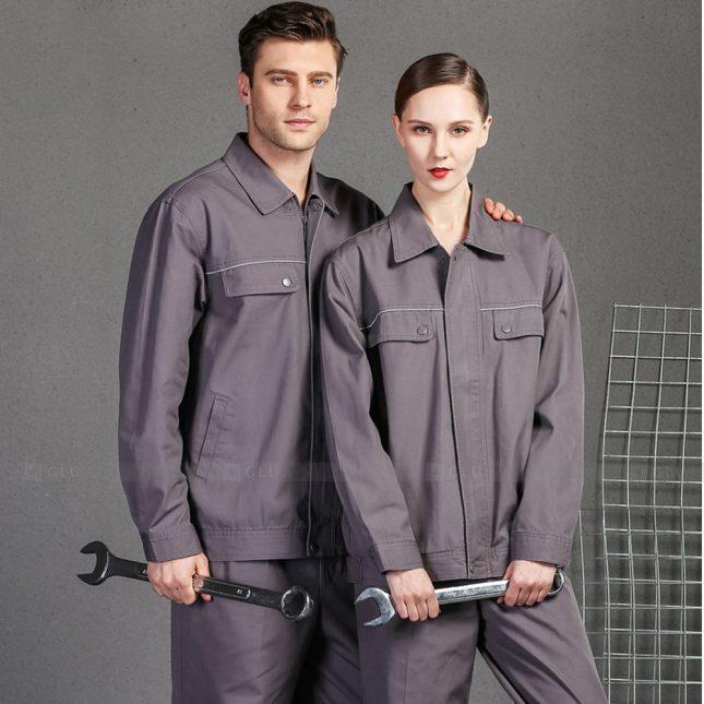 Quan ao dong phuc bao ho GLU X999 đồng phục công nhân cơ khí