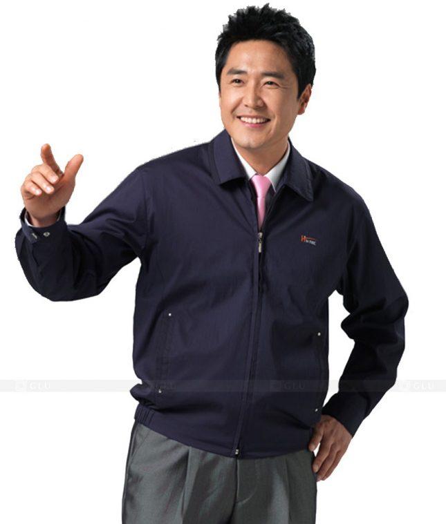 Ao Khoac Dong Phuc Cong Ty GLU AKC08 áo đồng phục công ty
