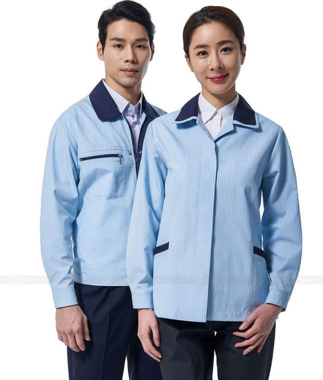 Ao Khoac Dong Phuc Cong Ty GLU AKC100 áo đồng phục công ty đẹp