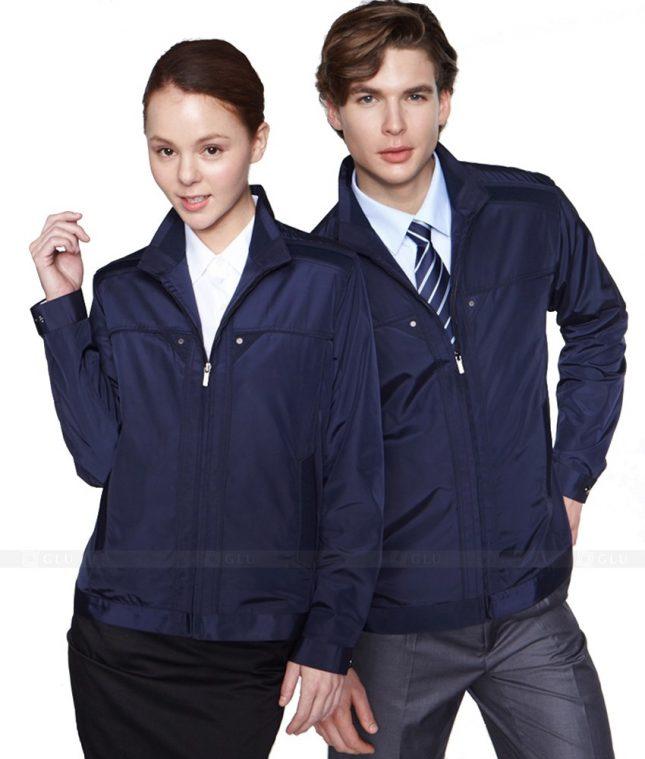 Ao Khoac Dong Phuc Cong Ty GLU AKC102 áo đồng phục công ty đẹp