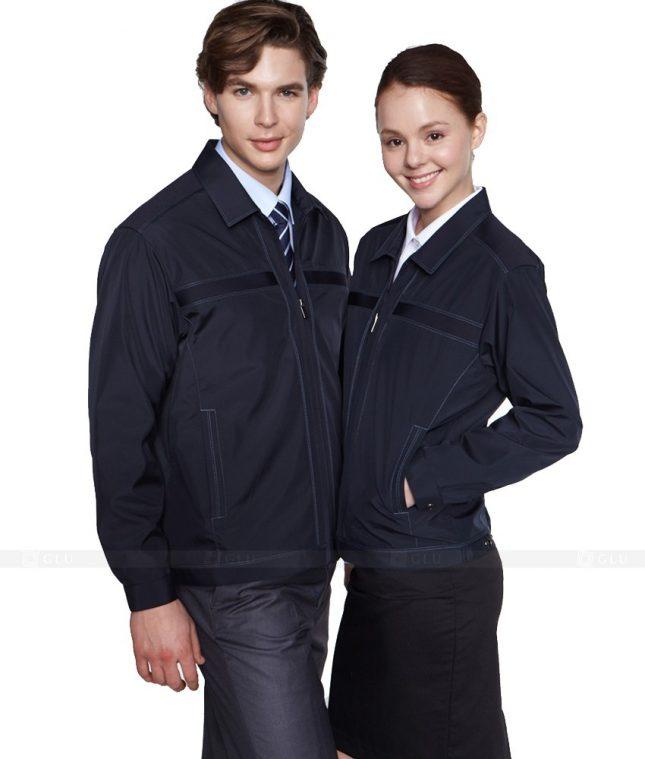 Ao Khoac Dong Phuc Cong Ty GLU AKC105 áo đồng phục công ty đẹp