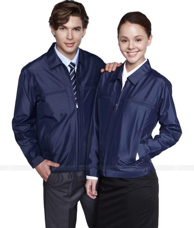 Ao Khoac Dong Phuc Cong Ty GLU AKC107 áo đồng phục công ty đẹp