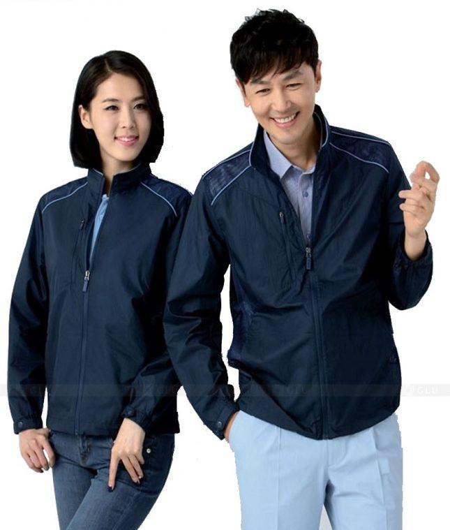 Ao Khoac Dong Phuc Cong Ty GLU AKC111 áo đồng phục công ty đẹp