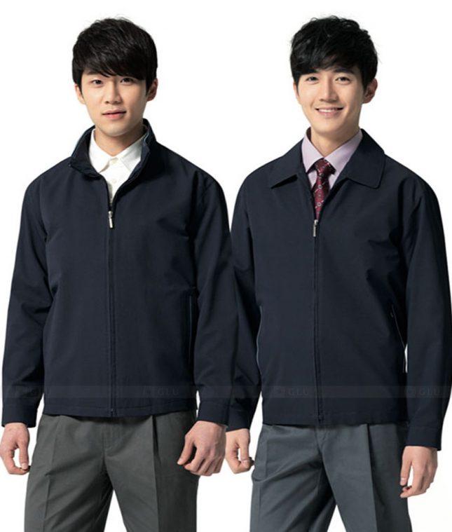 Ao Khoac Dong Phuc Cong Ty GLU AKC112 áo đồng phục công ty đẹp