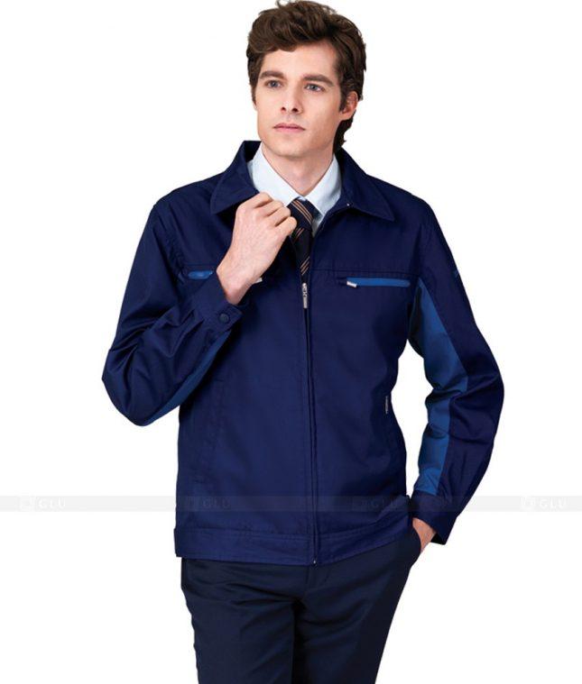 Ao Khoac Dong Phuc Cong Ty GLU AKC19 áo đồng phục công ty
