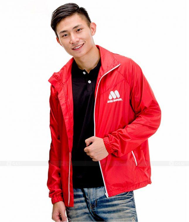 Ao Khoac Dong Phuc Cong Ty GLU AKC24 áo đồng phục công ty đẹp
