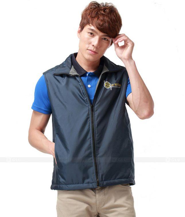 Ao Khoac Dong Phuc Cong Ty GLU AKC27 áo đồng phục công ty đẹp