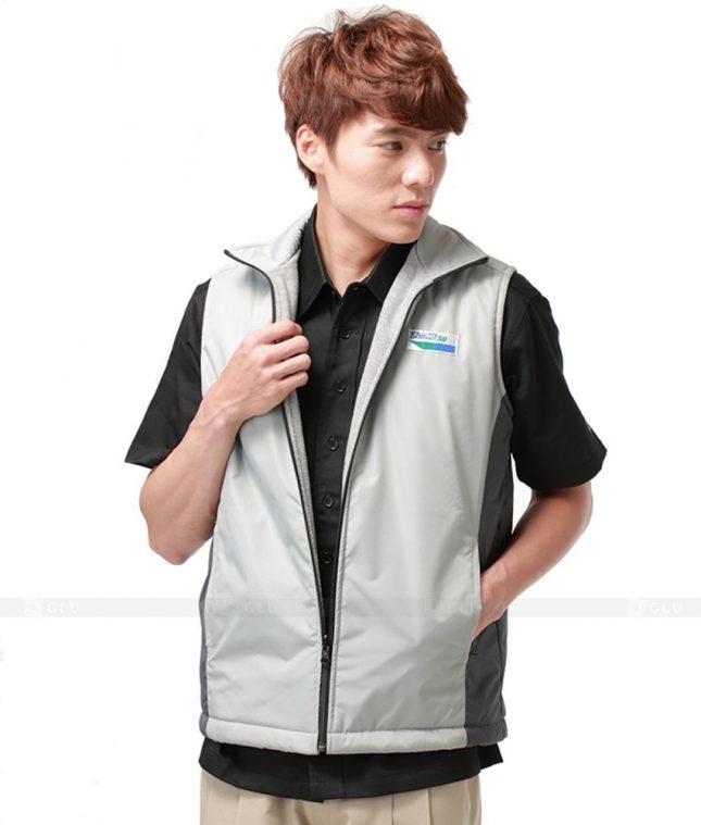 Ao Khoac Dong Phuc Cong Ty GLU AKC28 áo đồng phục công ty đẹp