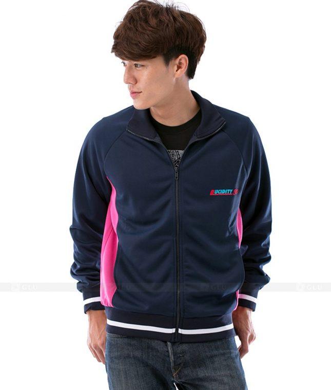 Ao Khoac Dong Phuc Cong Ty GLU AKC31 áo đồng phục công ty đẹp