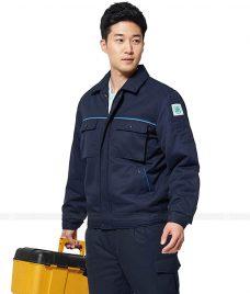 Ao Khoac Dong Phuc Cong Ty GLU AKC35 áo khoác đồng phục công ty