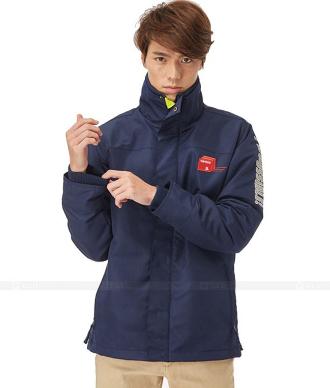 Ao Khoac Dong Phuc Cong Ty GLU AKC36 áo đồng phục công ty đẹp