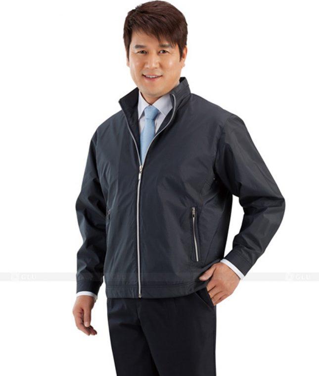 Ao Khoac Dong Phuc Cong Ty GLU AKC39 áo đồng phục công ty đẹp
