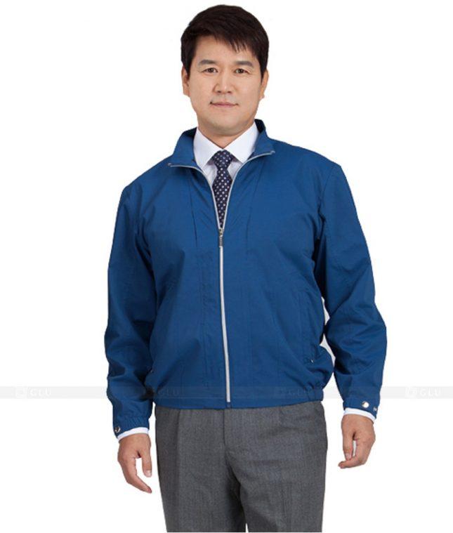 Ao Khoac Dong Phuc Cong Ty GLU AKC40 áo đồng phục công ty đẹp