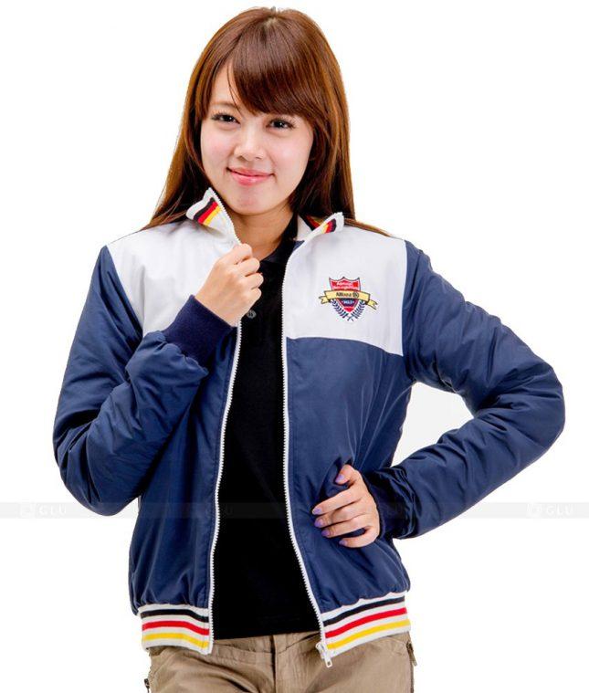Ao Khoac Dong Phuc Cong Ty GLU AKC75 áo đồng phục công ty đẹp