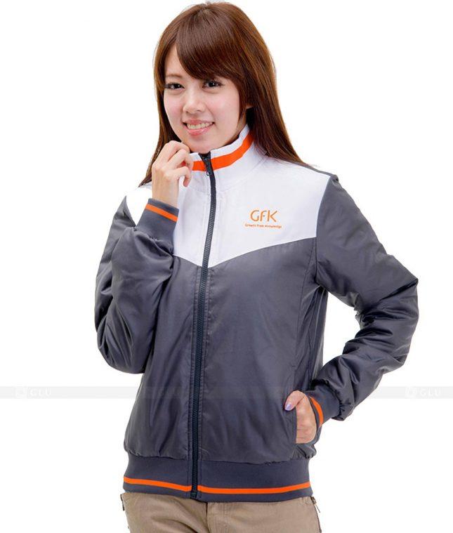 Ao Khoac Dong Phuc Cong Ty GLU AKC76 áo đồng phục công ty đẹp