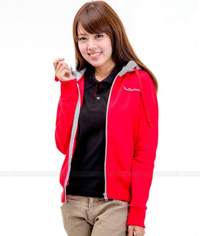 Ao Khoac Dong Phuc Cong Ty GLU AKC81 áo đồng phục công ty đẹp
