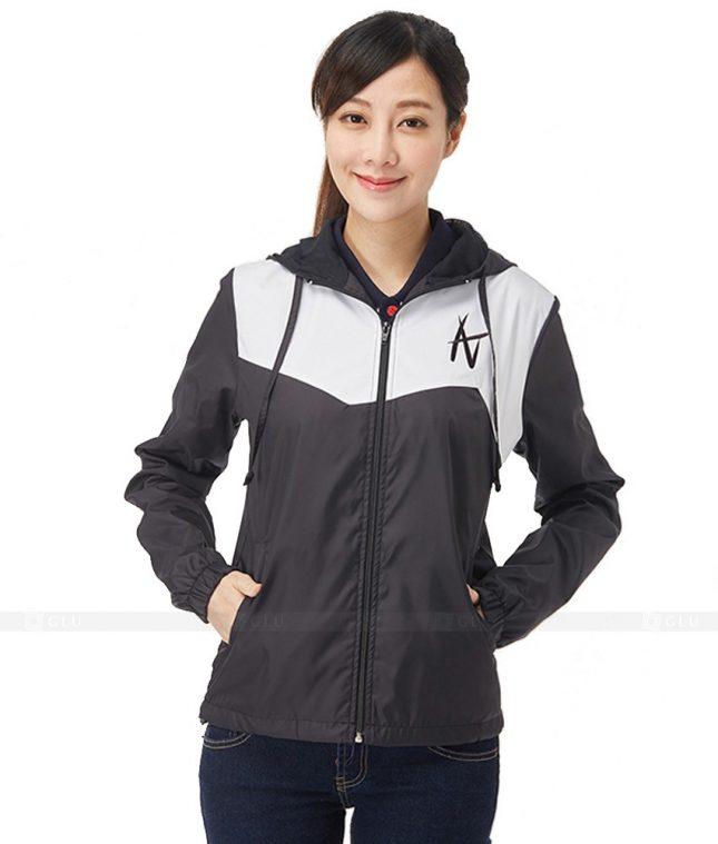 Ao Khoac Dong Phuc Cong Ty GLU AKC88 áo đồng phục công ty đẹp