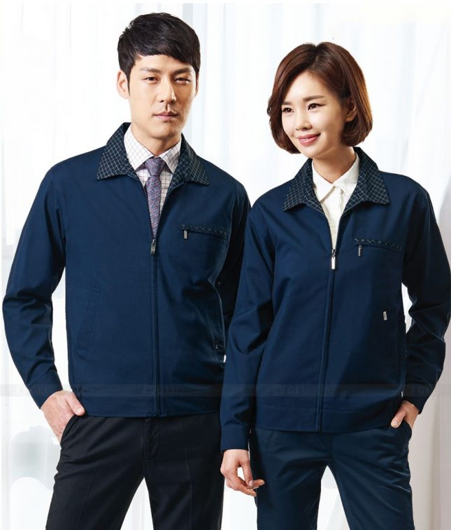 Ao Khoac Dong Phuc Cong Ty GLU AKC99 áo đồng phục công ty đẹp
