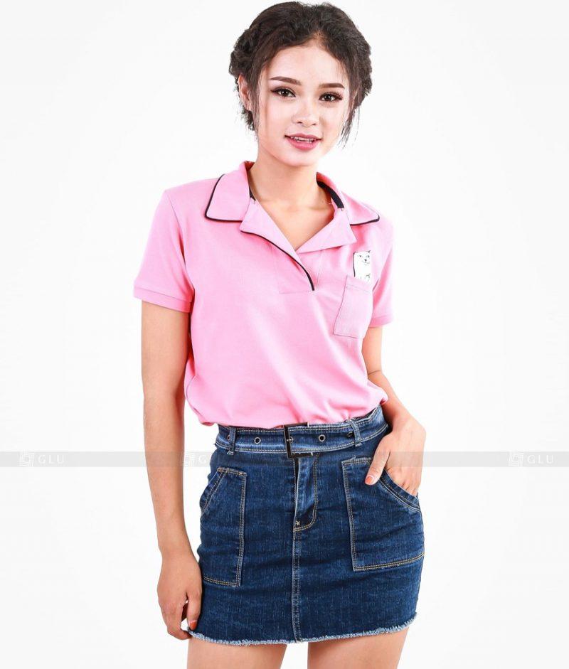 Ao Thun Nu Co Be GLU BE05