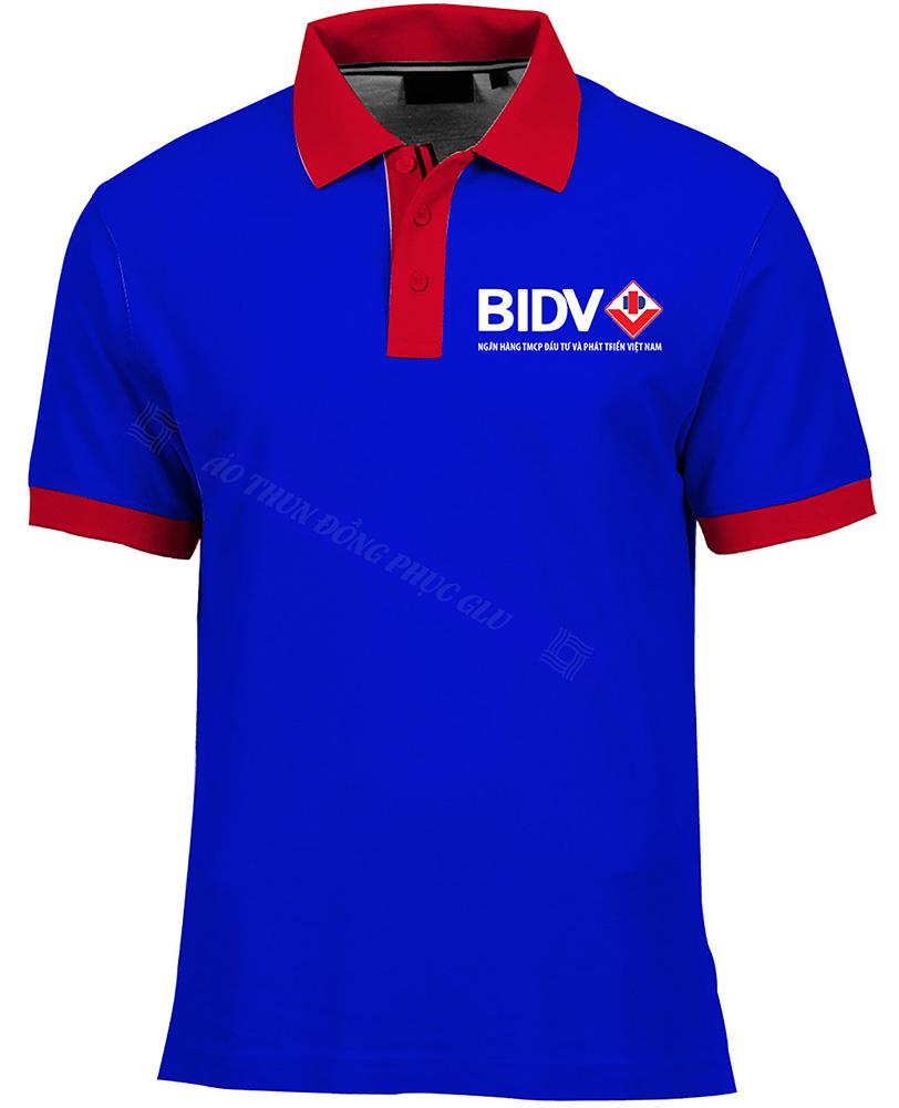 Ao thun ngan hang BIDV AT487