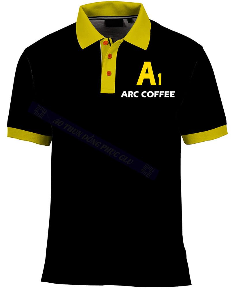 ao thun A1 Arc coffee AT468
