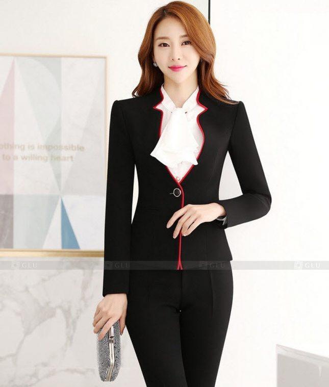 Ao Vest Dong Phuc Cong So GLU 397 áo sơ mi nữ đồng phục công sở
