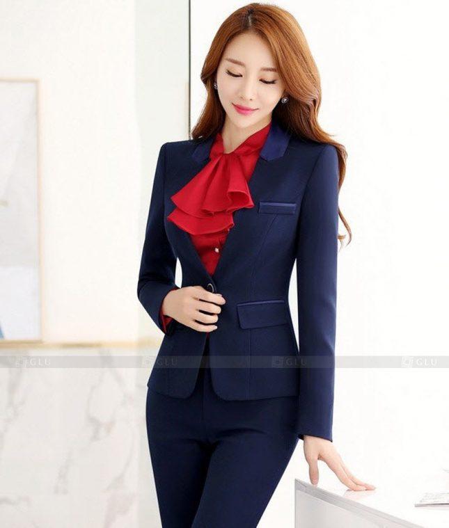Ao Vest Dong Phuc Cong So GLU 399 áo sơ mi nữ đồng phục công sở